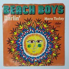 "BEACH BOYS Darlin' b/w Here Today 2068 IAM 7"" 45rpm Vinyl VG+ near ++ PS"