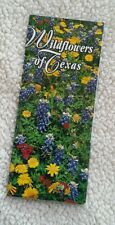 Texas Tx Wildflowers in Map Form Covers all areas of Texas Climate Wild Flowers