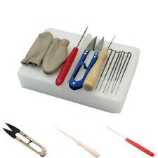 Craft Kit Wool Felt Tools Needle Felting Starter Kit Mat + Scissors + Needle US
