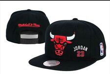 Chicago Bulls Mitchell & Ness NBA Cap Snapback Flat Cap: One Size Fits Most #3