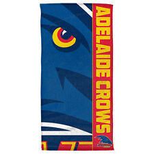 AFL ADELAIDE CROWS BEACH/BATH TOWEL - BRAND NEW