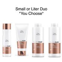 Wella FusionPlex Intense Repair Shampoo & Conditioner Duo **Select Size**