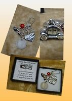 WELL DONE On Your Driving Test Lucky Sixpence Coin Car Key Keepsake Gift Boxed