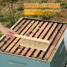 Wooden Natural Beekeeping Bee Brush Beekeepers Beehive Tool Equipment