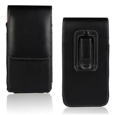 Universal PU Leather Belt Loop Hip Case Cover Holster Pouch For Oukitel Cubot