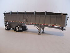 DCP 1/64 SCALE EAST END DUMP TRAILER WITH SILVER SIDES/FRAME AND BLACK TARP
