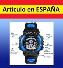 Reloj DIGITAL pulsera deportes muñeca adulto niño LCD silicona Quartz alarma