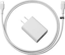 Google OEM 18W USB Type-C Power Adapter w/ 1m USB-C to USB-C Cable - Gray