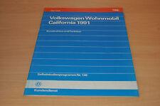 Selbststudienprogramm SSP 136 VW Wohnmobil California 1991 Konstruktion Funktion