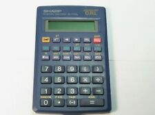 SHARP VINTAGE SCIENTIFIC CALCULATOR EL 530L ADVANCED DAL TESTED WORKING