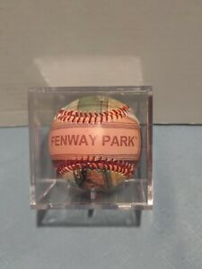 BOSTON RED SOX 2004 Collectible Baseball FENWAY PARK Souvenir Unforgettaball MLB