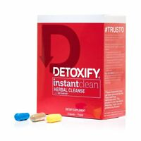 1x Detoxify Instant Clean Herbal Cleanse ( 3 Capsules ) Metaboost Flush Detox