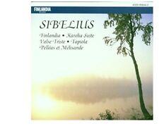 Jean Sibelius: Finlandia; Karelia Suite; Valse Triste; Tapiola; Pell'as (cd3731)