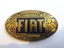 Fiat Oldtimer Abzeichen Kühler Zeichen Plakette göde