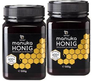 (189,90€/1kg) 1000g (1kg!) MANUKA-HONIG von LARNAC: MGO 600+ Manukahonig 1000g