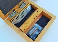 Mini Tap & Die Set with Screw Plate & Taps Jewelers Jewelry Design Repair Tool