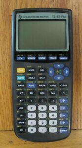 Texas Instruments Ti-83 Plus Graphing Calculator Parts or Repair - Read Desc.