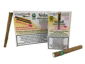 Nirdosh 1 Pacchetto con Filtro + 1 Pacchetto senza Filtro - Smettere di Fumare