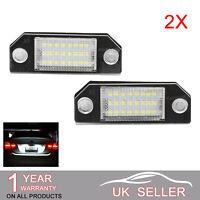 LED Licence Number No Error For Ford Focus Plate Light C-Max Kuga Mondeo UK