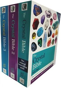 Judy Hall The Crystal Bible Volume 1-3 Books Set Collection Godsfield Bibles