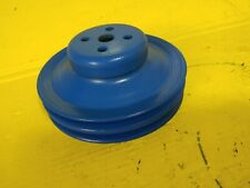 67-69 Ford 289 302 351W 2 Row Water Pump Pulley OEM *Fast Free Shipping