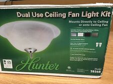 Hunter 28568 Dual Use Ceiling Fan Light Kit