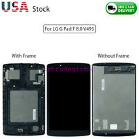 For LG G Pad F 8.0 V495 Replacement LCD Display + Touch Screen Digitizer ± Frame