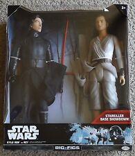 """Star Wars - Kylo Ren Vs. Rey - 2-pk 18"""" Figurines, Big-Figs, Jakks, NIB ~ New"""