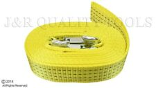 "2""x 20' Tow Strap  RATED 5,500 LB Recovery Strap Auto Truck ATV Pulling Off Road"
