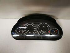 INSTRUMENTENKOMBINATION Original + BMW 3er E46 + Tacho Chrom Ringe + 6932907