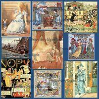 LOT 6+GB Vintage Children's Stories CLASSICS 424 PDF ebooks DVDs Homeschool Book