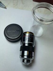 Olympus SPlan 100, 1.25 Oil 160 / 0.17 Oil Microscope Objective