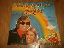 "PETERS & LEE "" RAINBOW "" VINYL LP EX/EX 1974 PHILIPS 6308 208"