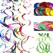 6pcs Ceiling Hanging Swirl Baby Shower Birthday Party Celebration Decorations