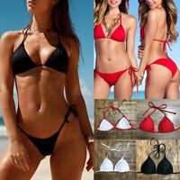 2019 Womens Bikini Top Padded Bandage Swimsuit Beachwear Bathing Suit Swimwear