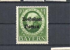 Bayern 1919, Michelnummer: 132 I A **, postfrisch **, Katalogwert € 55,00