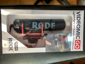 Rode VMGO VideoMic GO On-Camera Microphone - Black + Dead Cat Go fur Windscreen