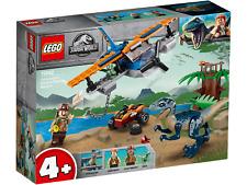 LEGO® Jurassic World™ 75942 Velociraptor Rettungsmission m.d. Doppeldecker -NEU-