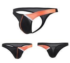 Men's Bikini Briefs Boxers Underwear Thongs G-String Swimwear 10Color M L XL 2XL