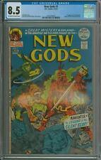 NEW GODS 7 CGC 8.5 1st STEPPENWOLF ORIGIN MR MIRACLE ORION NEW CGC CASE DC 1972