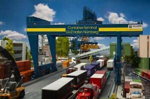 FALLER 120291 Nϋrnberg Container Terminal/Crane Containerbrücke 420x347x263mm