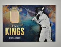 2021 Diamond Kings Bat Kings Relic Bill Mazeroski - Pittsburgh Pirates