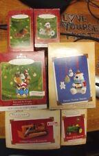 6 Hallmark Keepsake Ornaments 2000-2004 Tonka, Deere, Band, Sweet Tooth, Walrus