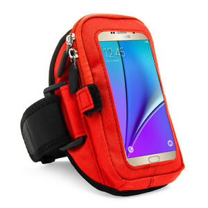 VanGoddy Sports Running Jogging Zipper Armband Case Pouch Holder For Cell Phones