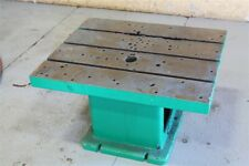 """36"""" X 30"""" X 20 T Slotted Drill Table: Yoder #57205"""