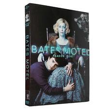 2017 NEW Bates Motel Season 5 (DVD,3-Disc Set) Free Shipping