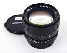 Mint- Cosina MC 55mm f/1.2 Pentax PK mount