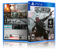 Homefront: The Revolution - ReplacementPS4 Cover and Case. NO GAME!!
