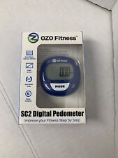 OZO Fitness SC2 Digital Pedometer | Best Pedometer for Walking | Accurately and