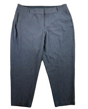 Glamour X Lane Bryant Pants Size 20 Womens Moderately Curvy Fit Ankle Pin Stripe